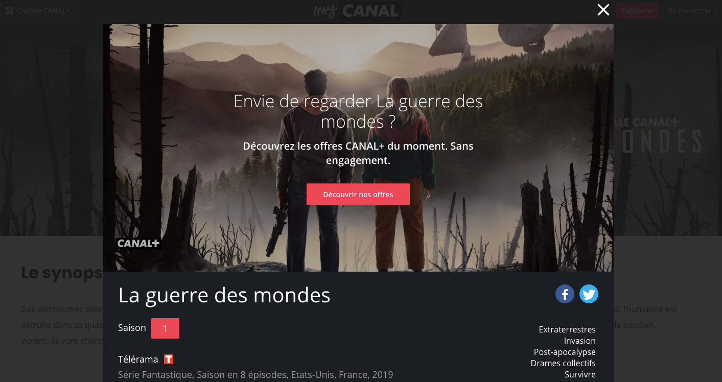 The Canal+ Paywall: From Content, to Subscription to Content | Series.