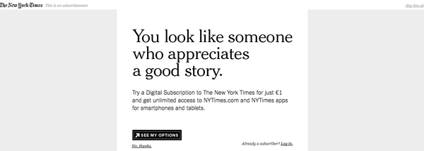 Le paywall du New York Times