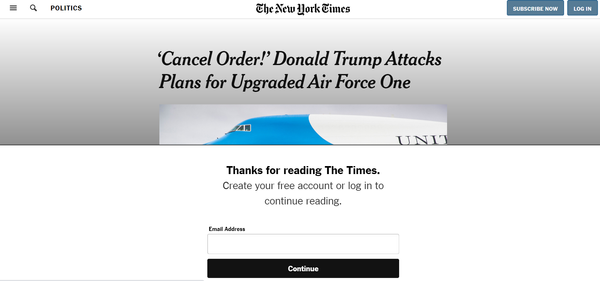 Series | From content to subscription to... content, how many touchpoints? The example of The New York Times